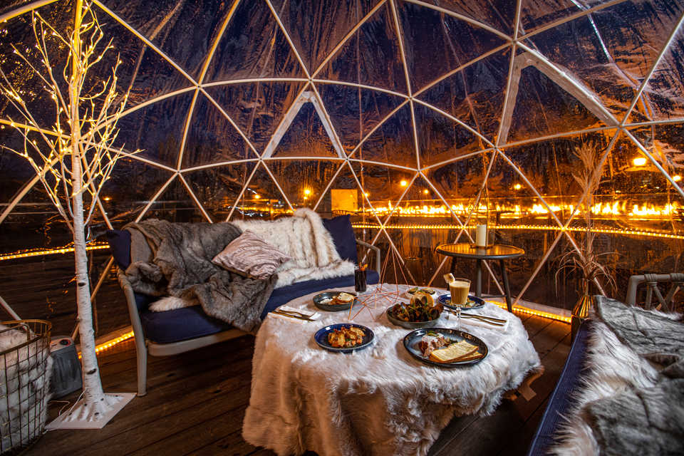 H Tasting Lounge Winterlust Dome Dining Experience