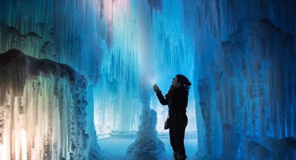 Ice Castles Alberta