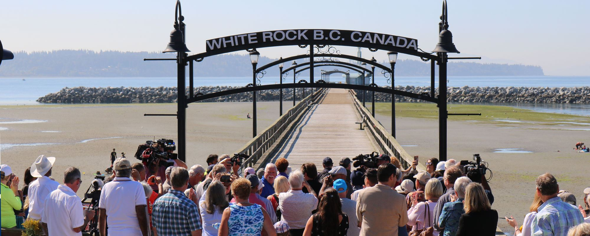 White Rock Pier Re-Opening Ceremony