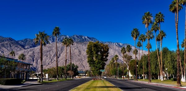 Air Canada Worldwide Seat - Vancouver To Palm Springs California