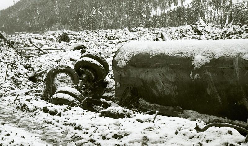 The Hope Slide 1965 BC Landslide