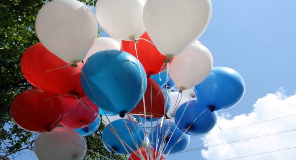 Balloons in human rights case