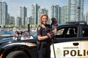 Meghan Agosta Vancouver Police NHL All-Star Weekend 2020