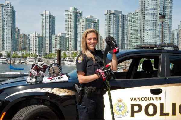 Meghan Agosta Vancouver Police NHL All-Star Weekend 2020