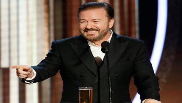 Ricky Gervais is coming to Vancouver in 2020