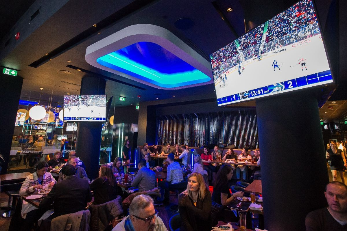The SportsBar Rogers Arena