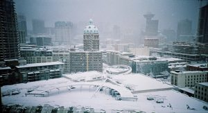Vancouver snow day