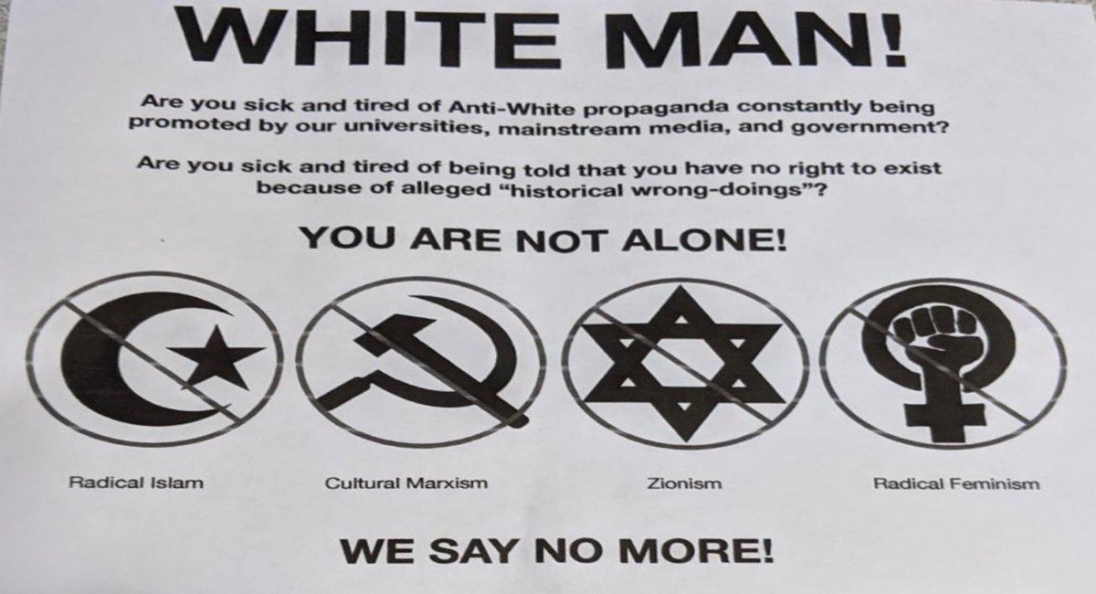 White Supremacy Flyer