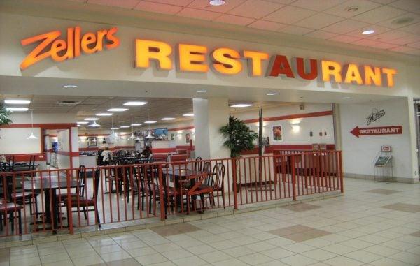 Zellers restaurant brings back nostaglia