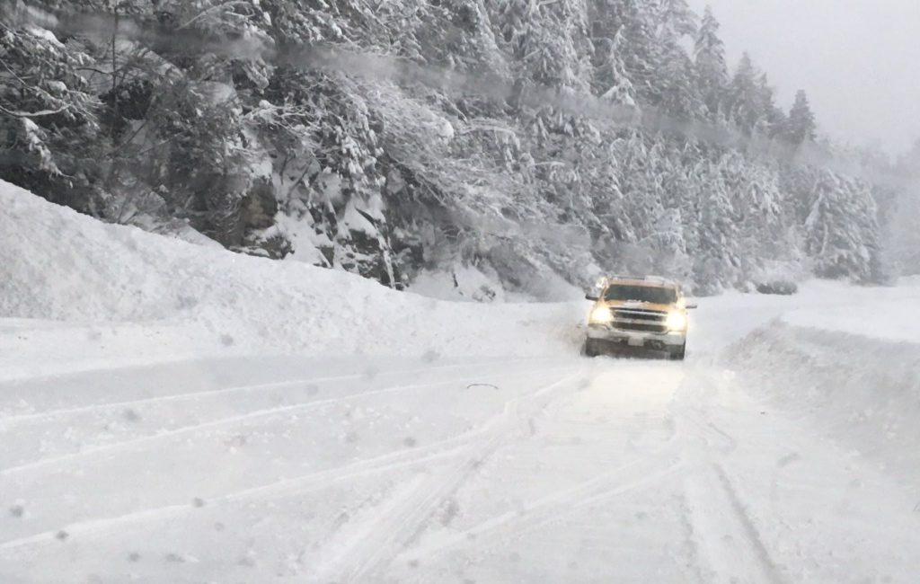 weather warnings in B.C. are in effect