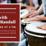 Drum with Milton Randall – Afro-Brazilian Drum Experience 2020