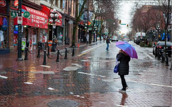Vancouver wet weather streak