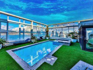 $10 million Vancouver Penthouse