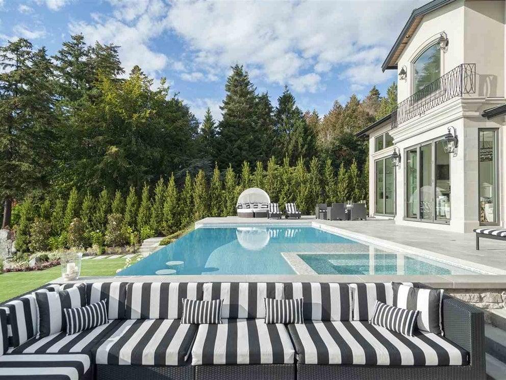 Surrey mansion pool