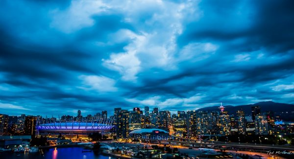 Vancouver weather forecast grey and cloudy
