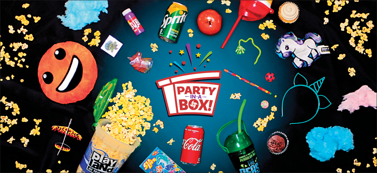 PNE party in a box