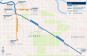 surrey-langley-skytrain-route