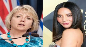 Dr. Bonnie Henry Is Taking Over Actress Olivia Munn's Social Media Account