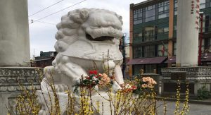 Vancouver chinatown lions