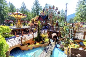 B.C.'s Lake Side Theme Park Is Now Open For The Summer With 14 Rides