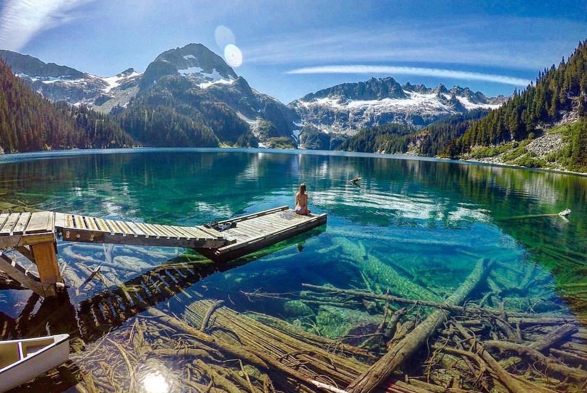 lake lovely water