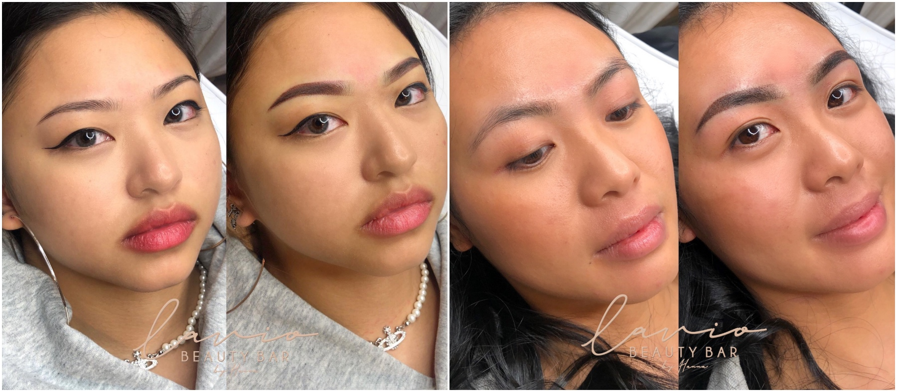 semi permanent eyebrows vancouver lavio beauty bar