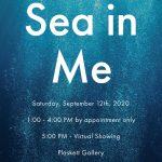 Sea in Me: Solo Art Show 2020