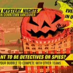 Mystery Nights are Back, Every Night in October!