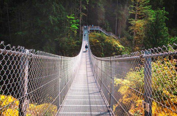 suspension bridges in bc
