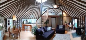 rainforest yurt