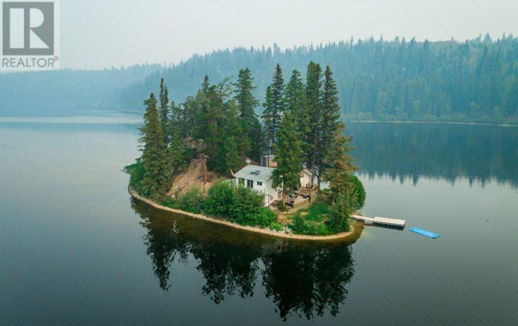 private island in bc
