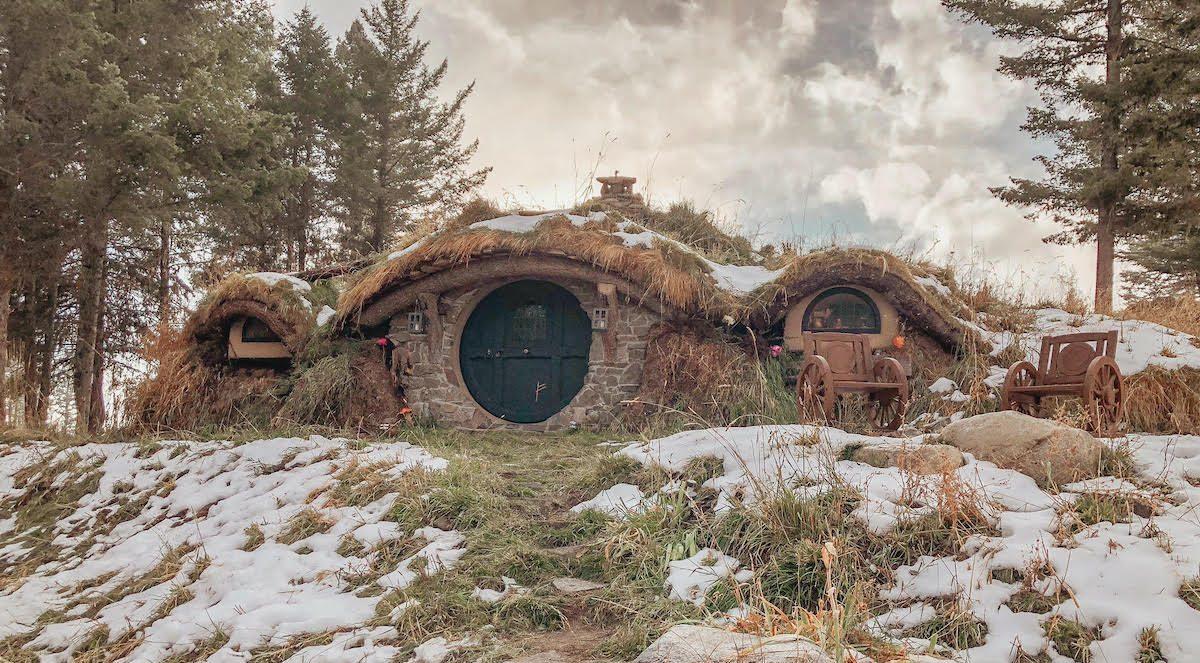hobbit mountain hole