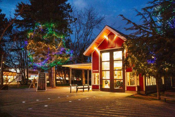 Richmond Waterfront Village Winter Wonderland