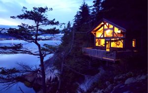 winter bc cabins