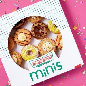 Krispy Kreme Limited edition minis