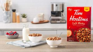 Tim Hortons cereal cafe mocha