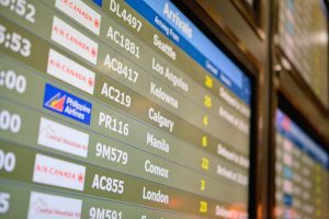 YVR flight reservations cancellations