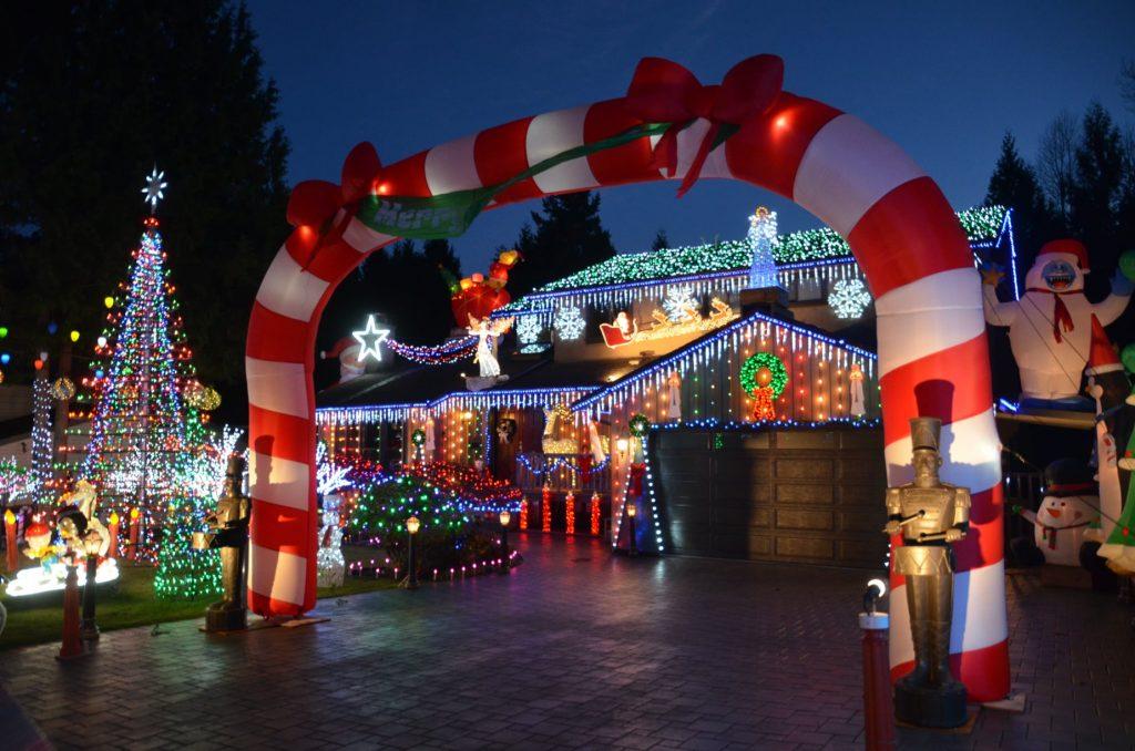 Burnaby christmas lights