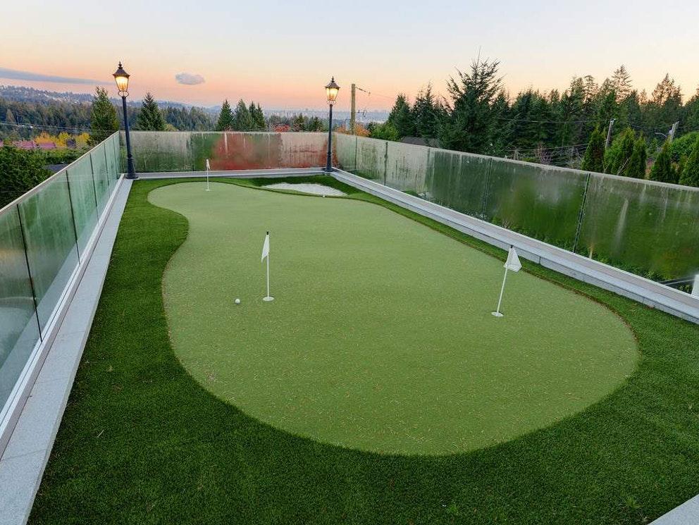 west vancouver mansion golf course