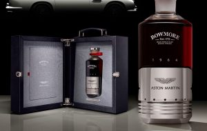 Bowmore Aston Martin DB5 scotch whisky