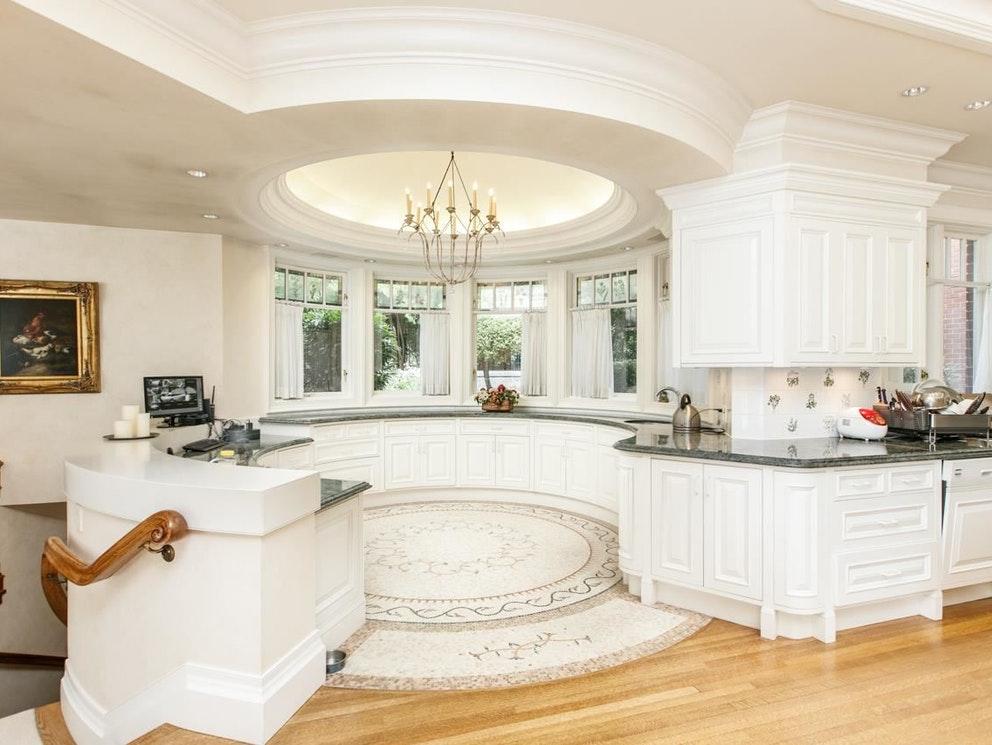 burnaby mansion kitchen