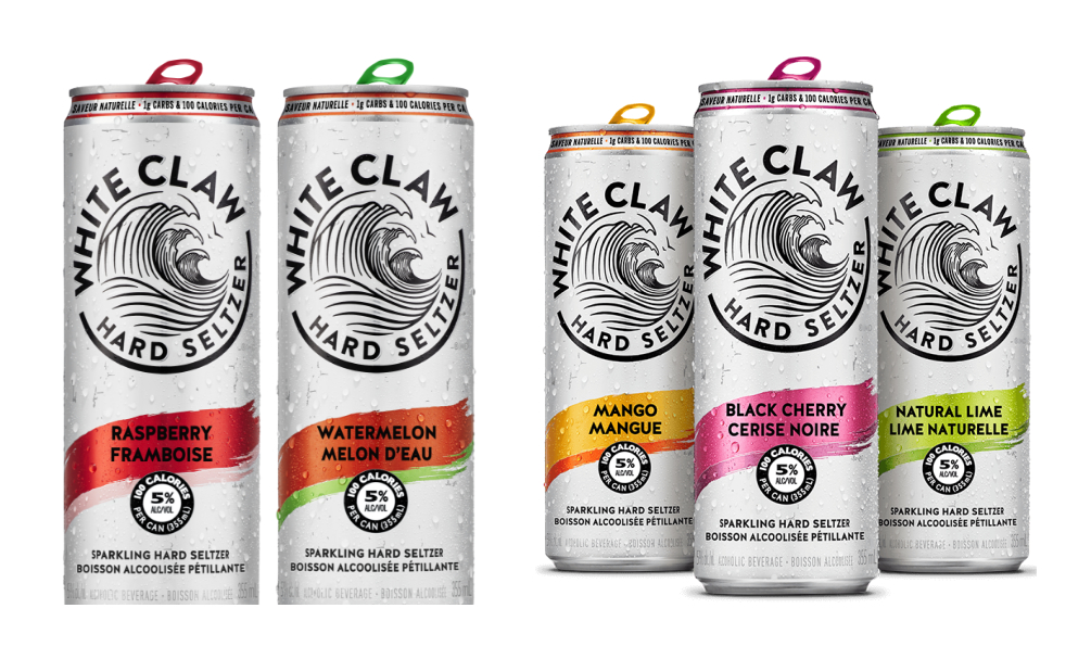 White Claw flavours