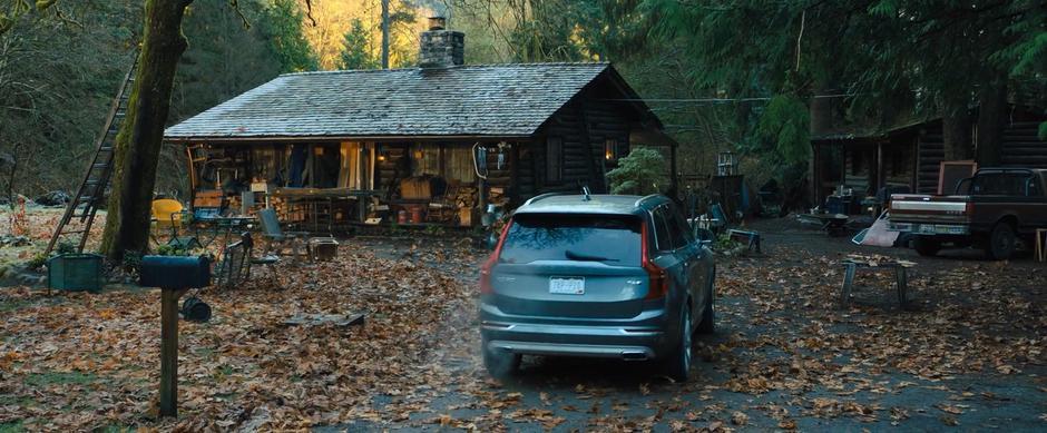 movie cabin filming