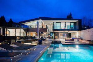 luxury vancouver rental house