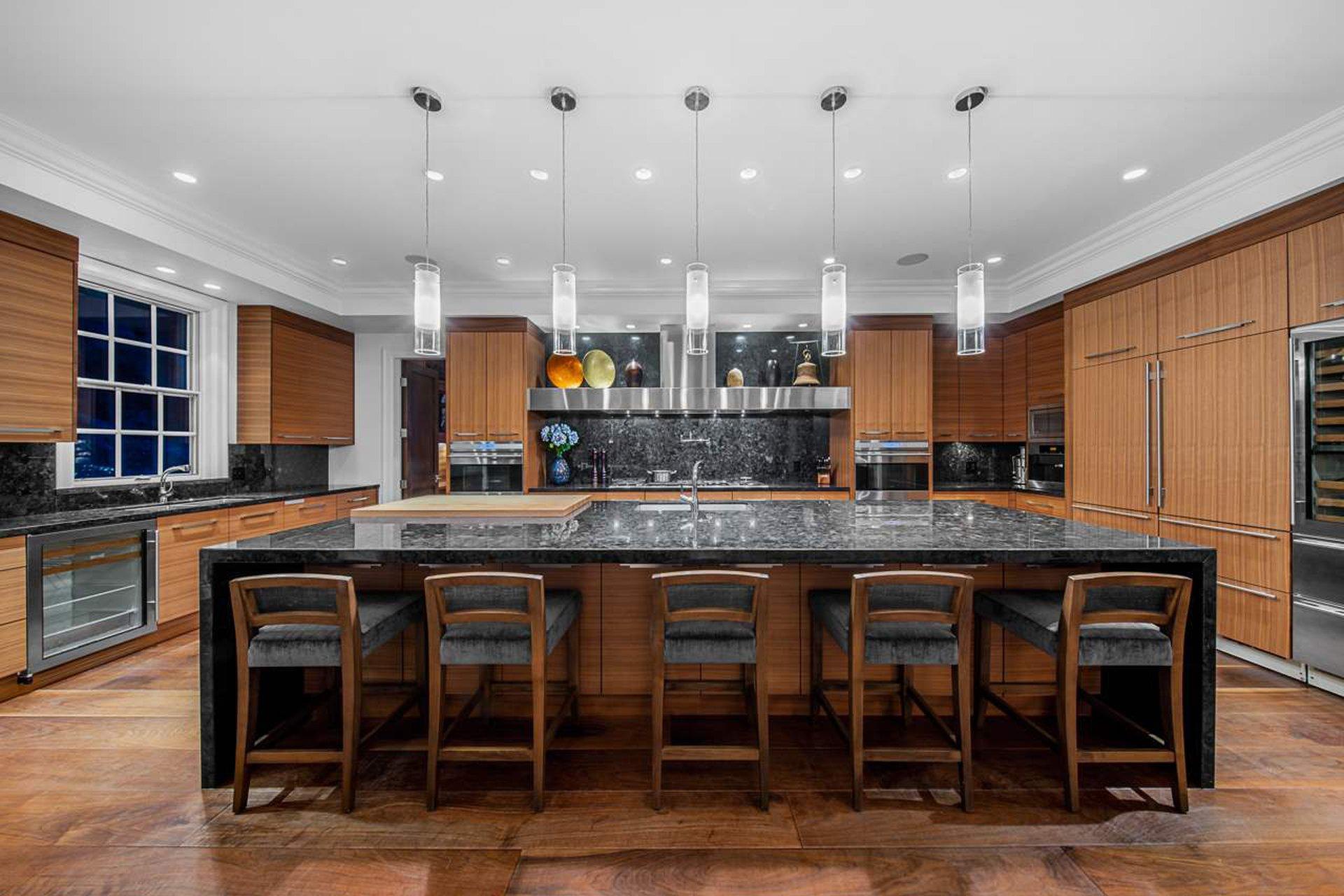gourmet kitchen west vancouver mansion