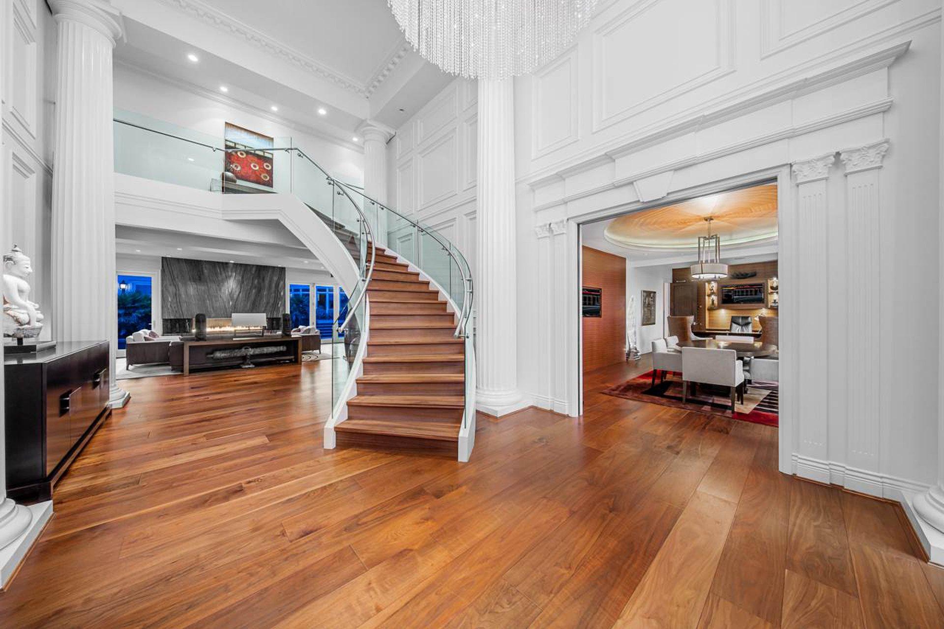 west vancouver mansion inside