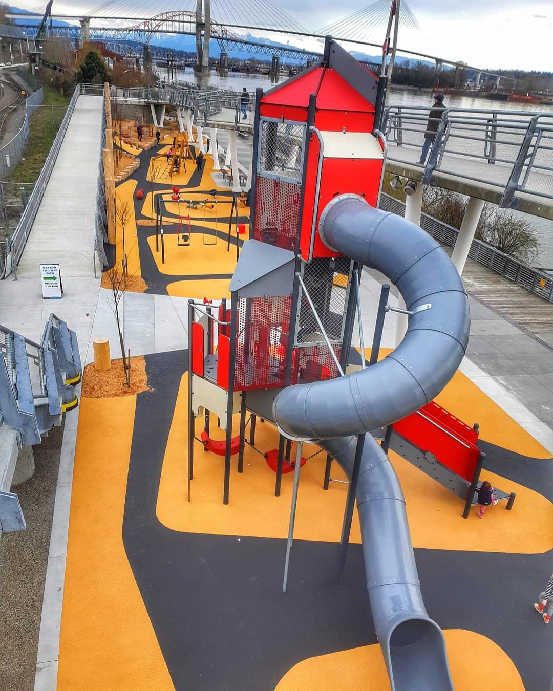 new west pier park new playground