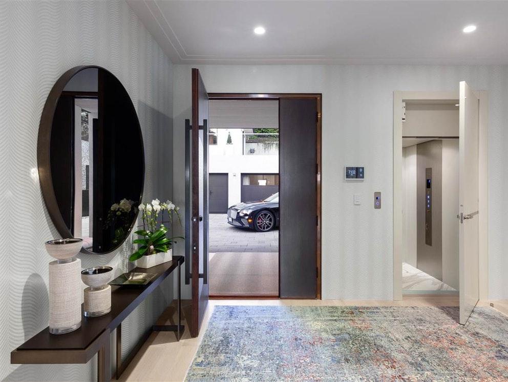 inside luxury home