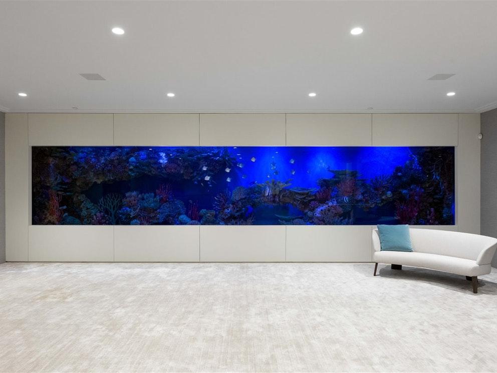 aquarium luxury home