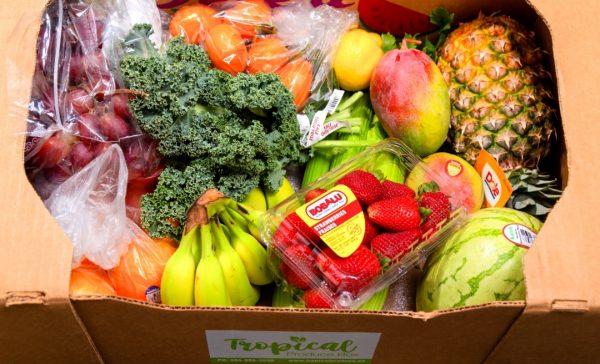 tropical produce box